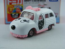 Peanuts Snoopy's Sister Belle,Takara Tomy Dream Tomica, ca.1/64