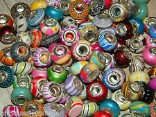 NEW LOT Charm 925 Silver European (200/pcs lot) Assorted Stlye MIX BEADS