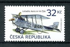 Czech Republic 2017 MNH Airplanes Aero A-14 1v Set Planes Aviation Stamps