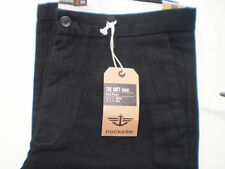 GENUINE DOCKERS D1 SOFT KHAKI CHINOS STRAIGHT LEG SLIM FIT MENS TROUSERS JEANS