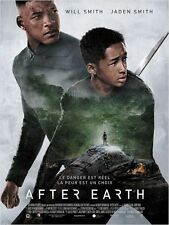 Affiche 120x160cm AFTER EARTH 2013 Will Smith, Jaden Smith, Sophie Okonedo