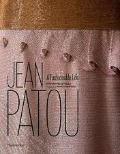 JEAN PATOU - NEW HARDCOVER BOOK