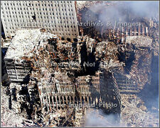 Photo: The Remains Of The World Trade Center Towers 6 Days After 9/11