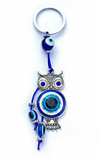 Beautiful Quality Evil/Lucky Eye Owl Keyring