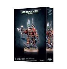 Warhammer 40k Chaos Space Terminator Lord  NIB