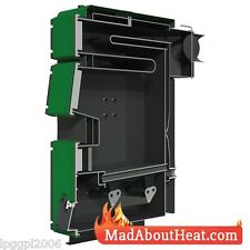 TWB 20kW Multi Fuel Boiler log coal shrubs waste wood cardboard burner