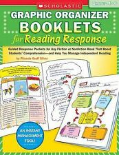 Graphic Organizer Booklets for Reading Response: Grades 4-6: Guided Response Pac
