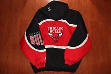 Vintage NBA CHICAGO BULLS Logo Athletic Jacket NWOT Starter Men's XL MJ Jordan