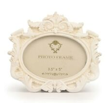 New Cream Vintage Shabby Chic Style Classic Shaped Photo Frames Rectangle Oval