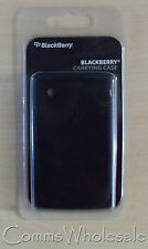 Genuine Original Blackberry 8520 Black Protective Silicone Phone Skin - NEW