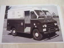 1960 'S DODGE MAIL TRUCK USPS   11 X 17  PHOTO  PICTURE