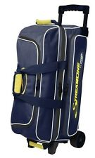 Storm Streamline Navy/Grey/Yellow 3 Ball Roller Bowling Bag