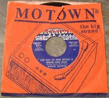 """Northern Soul 45 RPM By David Ruffin, """"I've Got To Find Myself A New Baby"""" on Mo"""