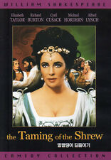 Shakespeare's - The Taming of the Shrew - Richard Burton Elizabeth Taylor (NEW)