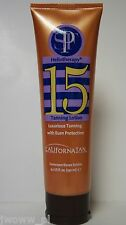 California Tan Heliotherapy SPF 15 Sunscreen Luxurious Burn Protection Creme