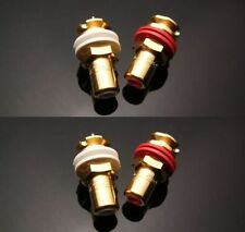 NEW CMC 816-U Gold Plated Female RCA Jack Socket Connector 4PCS