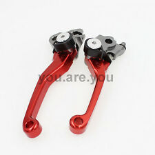 A Pair Dirt Bike Brake Clutch Pit Levers For Honda CR80R/85R 1998-2007 Off Road