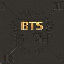 K-POP BTS [2 Cool 4 Skool] 1st Single Album CD + Photo Booklet Sealed Music CD