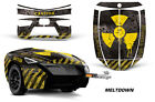 AMR Racing Freedom Trailer Graphic Kit Decal Wrap For CanAm Spyder MELTDOWN YLW