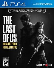 The Last Of Us Remastered [Playstation 4 PS4 Region Free English] Brand NEW