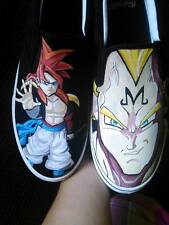 Men's Dragonball Z Custom Hand Painted Shoes