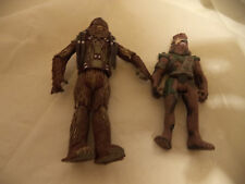 2 Star Wars Wookie Action figure - from Episodes 1-3