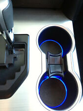LED Cup Holder Lights -Blue LEDs - Fits 2012-2014 Toyota Camry Custom Mod