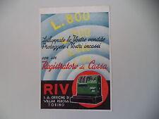 advertising Pubblicità 1940 REGISTRATORE DI CASSA RIV - VILLAR PEROSA