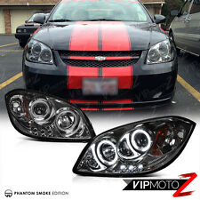 CCFL Halo LED Projector Smoke Headlights Lamp 2005-10 COBALT 07-09 PONTIAC G5