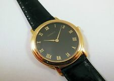 Lassale by Seiko Gold Tone Metal 7N00-F290 Leather Sample Watch NON-WORKING