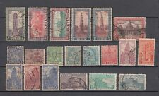 India 1st Definitive Series Archaeology 1949 Year Set of 20 Stamps Cat £ 50