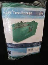 Christmas Artificial Tree Green Storage Duffel Bag 7.5' Container Cover Bedding