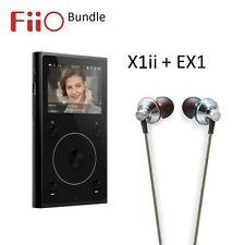 FiiO X1ii 2nd Gen High Resolution (FLAC/WAV) Music Player + EX1 Earphones BUNDLE