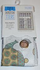 "Tea Party Tea Pot Muffins  Kitchen Curtains 54"" W X 14"" L Valance only"
