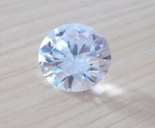 Brilliant 2.05ct AAA Natural White Zircon Round Shape Faceted Cut 7mm VVS Gems