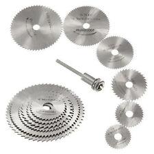 7Pcs HSS Rotary Tools Circular Saw Blades Discs Mandrel Cutoff Cutter Good