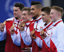Max Whitlock and Louis Smith UNSIGNED photo - 1749 - English gymnasts