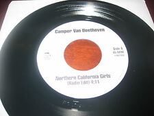 "Camper Van Beethoven - Northern California Girls / Come Down The Coast 7"" demo"