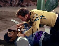 William Shatner & Leonard Nimoy Signed Star Trek Photo W COA - PSA/JSA Guarantee