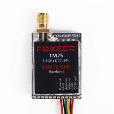 SMA Foxeer TM25 5.8GHz 25/200/600mW Video Transmitter VTx Switcher With Cable 1*