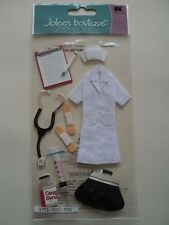EK SUCCESS JOLEE'S NURSE DIMENSIONAL STICKERS BNIP *LOOK*