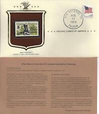 Historic Stamps of America DAVY CROCKETT Commemorative Stamp