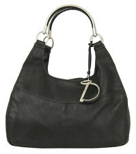 Dior 61 Black Pebbled Leather Tote Handbag RRP £1150