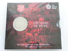 The Royal Mint 150th Anniversary of the Salvation Army 2015-SA15BU (#2)