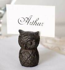 Owl Wedding Name or Business Card Holder Decor