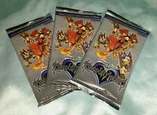 3x Kingdom Hearts Original (set #1) TCG/CCG Card Game Sealed Booster Packs