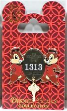 Disney Hollywood Tower Of Terror Hotel HTH Chip & Dale Bellhops Dangle Key Pin