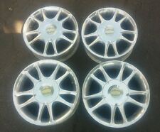 """California Roadster ACG 14"""" Inch Rear and 13"""" Front Alloy Rims golf cart 4 Lug"""