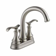 Delta Kinley 4 in. 2-Handle Bathroom Faucet Brushed Nickel - 25730LF-SP - NEW