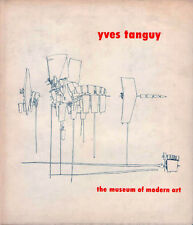 YVES TANGUY - 1955 Museum of Modern Art HB/DJ Retrospective Exhibition Catalog